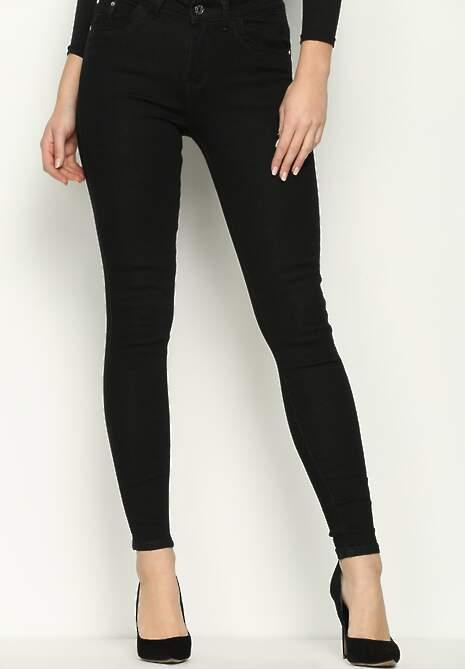 Czarne Spodnie Gusto
