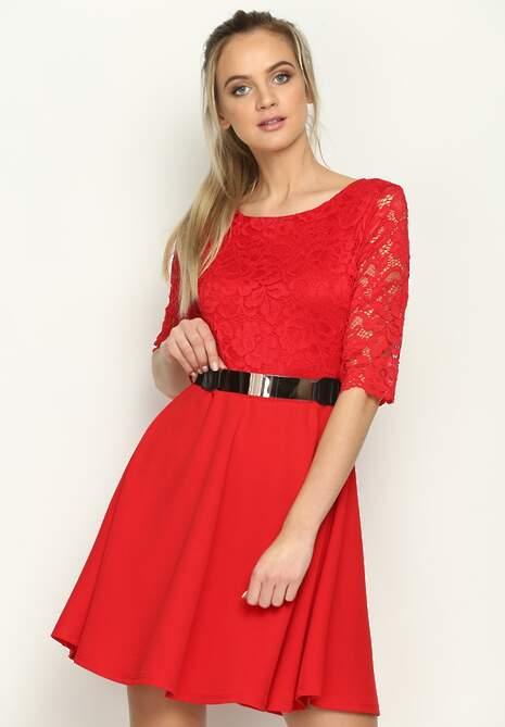 Czerwona Sukienka Grease