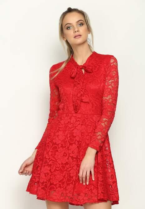Czerwona Sukienka Destiny Eve