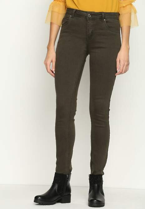 Khaki Jeansy Sunflowers