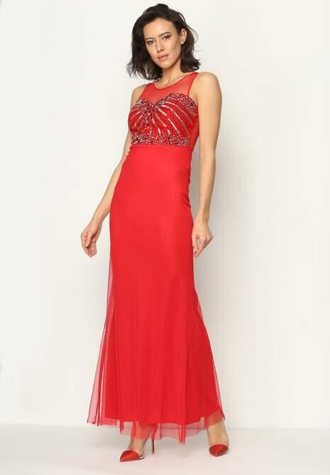 Czerwona Sukienka Royalty