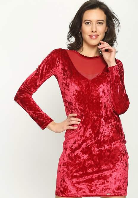 Czerwona Sukienka Velvet Mine