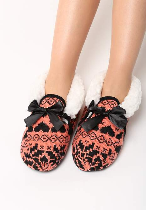 Pomarańczowe Kapcie Carpet Slippers