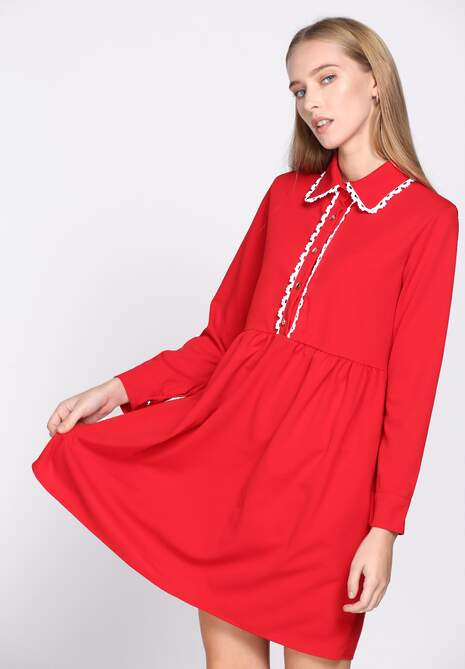 Czerwona Sukienka Holiday
