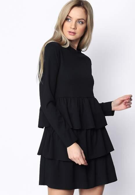 Czarna Sukienka Modesty And Chic