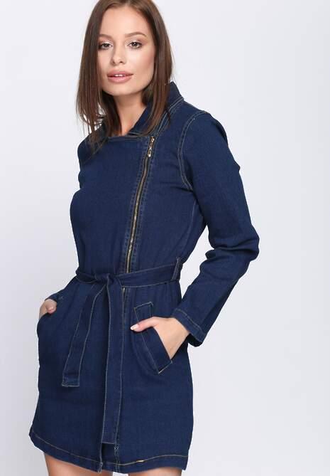 Jeansowy Płaszcz Uncounted