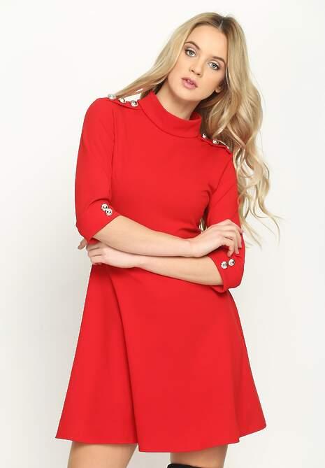 Czerwona Sukienka Widening