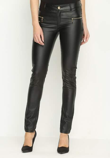 Czarne Spodnie Wildish