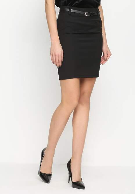 Czarna Spódnica Elegantly