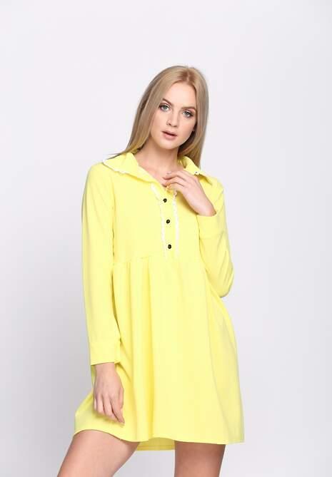 Żółta Sukienka Holiday