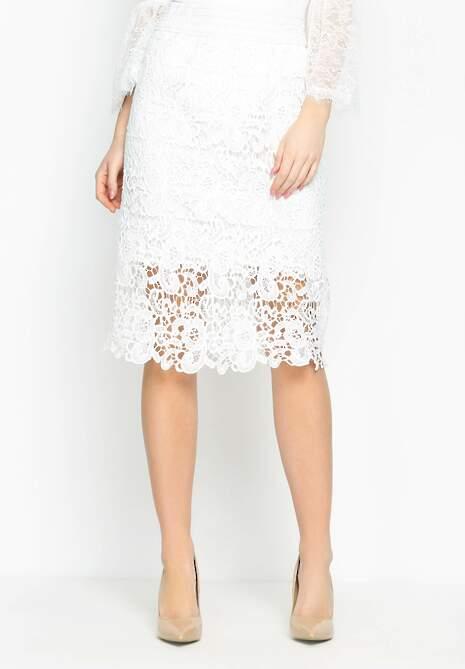 Biała Spódnica Latin Way