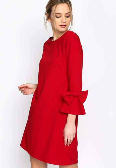 Czerwona Sukienka Phoenix