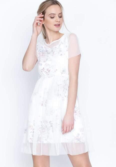Biała Sukienka La La Land