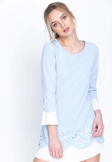 Niebieska Sukienka Northen Star