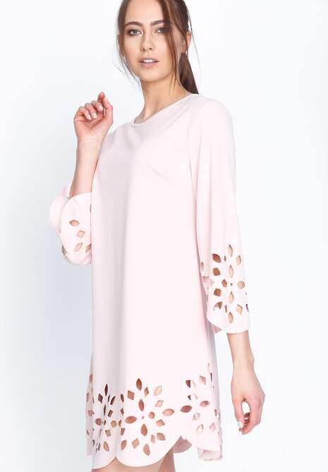 Różowa Sukienka Spring Coming