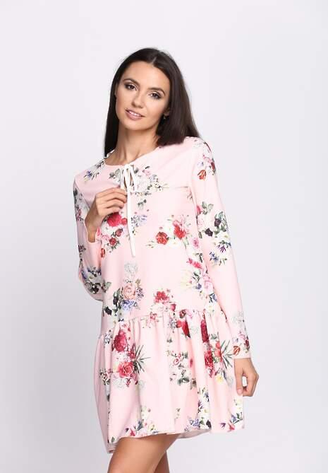 Różowo-Bordowa Sukienka Baylor