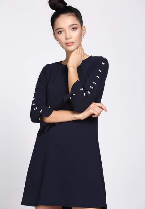 Granatowa Sukienka Perfect Date