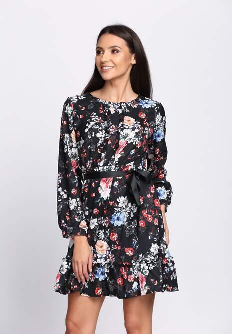 Czarna Sukienka Florentin