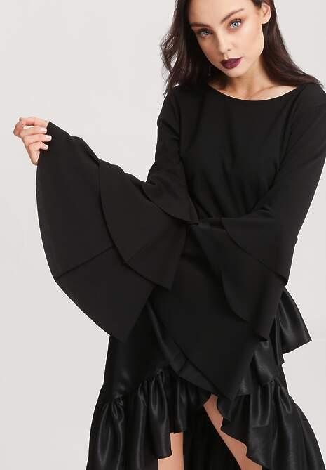 Czarna Bluzka Charming