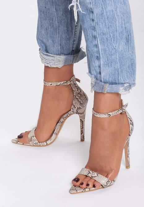 Wężowe Sandały Cause