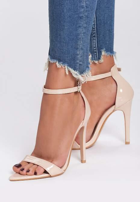 Beżowe Sandały Cause