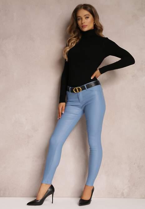 Jasnoniebieskie Spodnie Luster