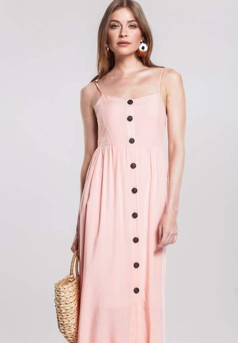 af1f452c328bf Różowa Sukienka For You w Renee.pl