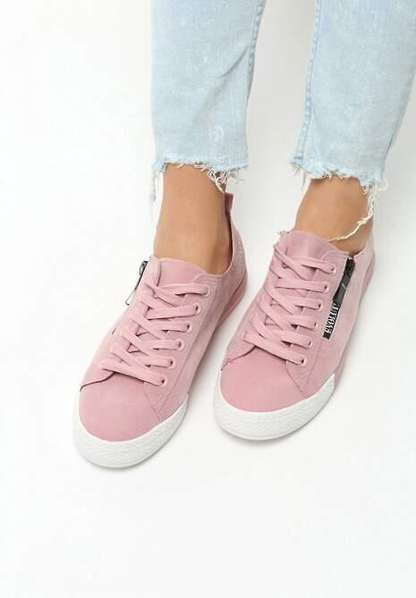 Różowe Trampki Fashionable