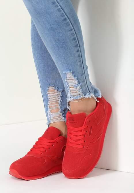 Czerwone Buty Sportowe Compete