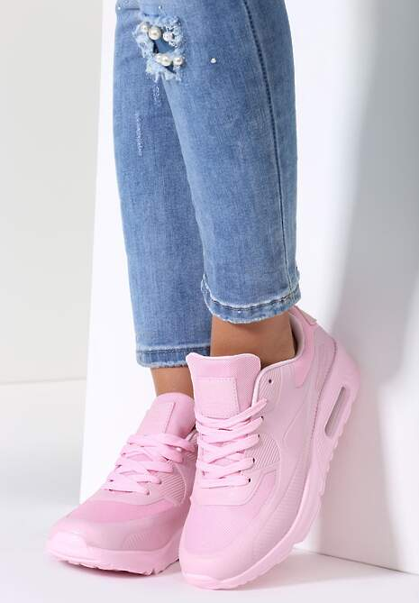 Różowe Buty Sportowe Taylor