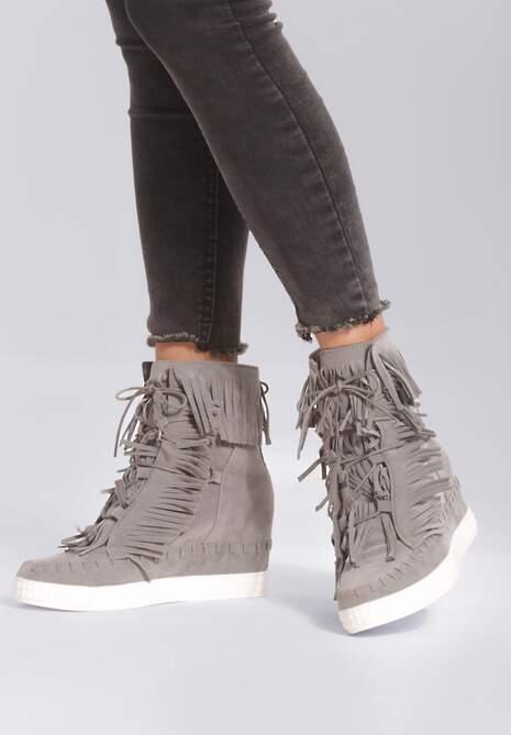 Szare Sneakersy Ginny