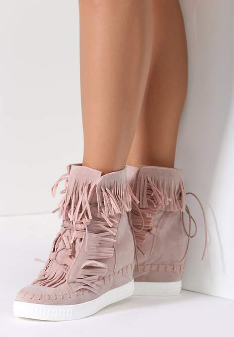 Różowe Sneakersy Ginny