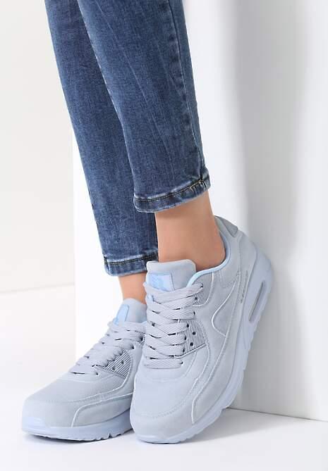Błękitne Buty Sportowe Vintage Nilda