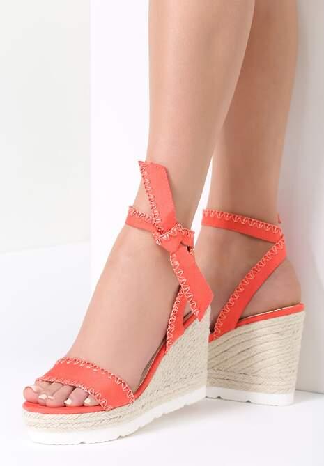 Koralowe Sandały Newcomers