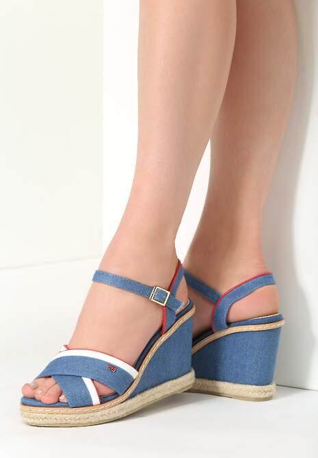 Niebieskie Sandały Pirua