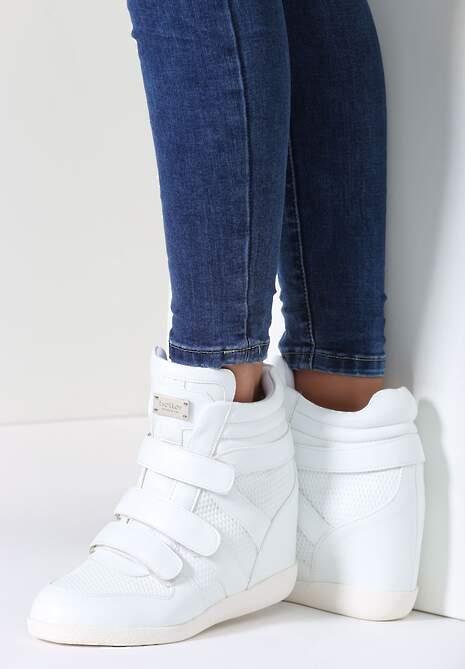 Białe Sneakersy Izabell