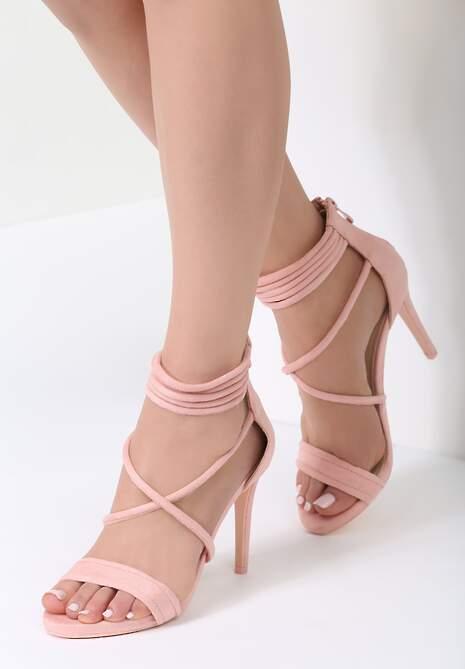 Różowe Sandały Miss Independent
