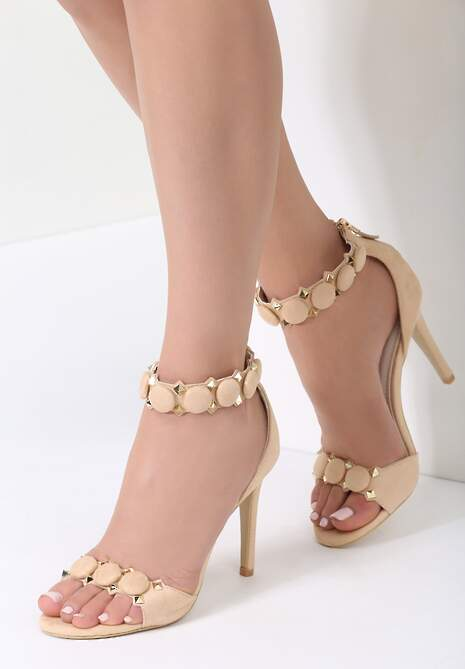 Beżowe Sandały Dovile