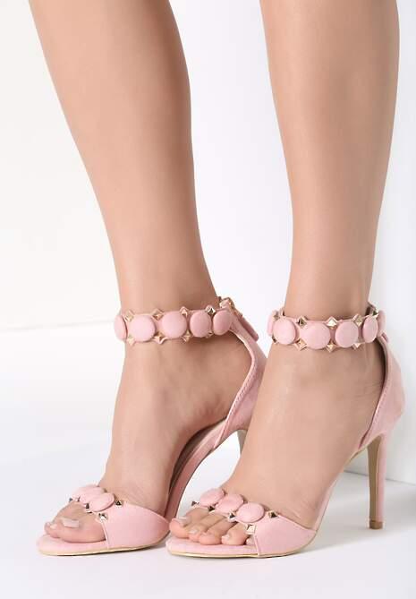 Różowe Sandały Dovile