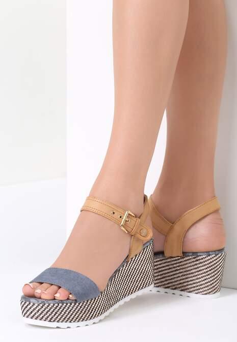Niebieskie Sandały Chunk