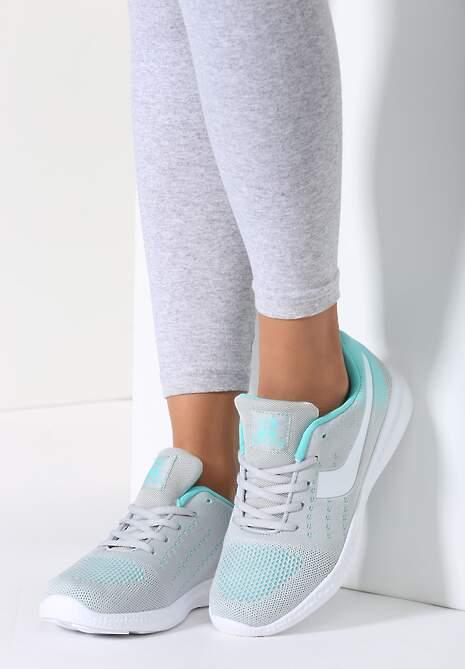 Szaro-Miętowe  Buty Sportowe Fabulous
