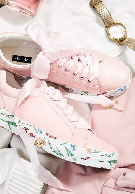 Różowe Trampki Wild Flower
