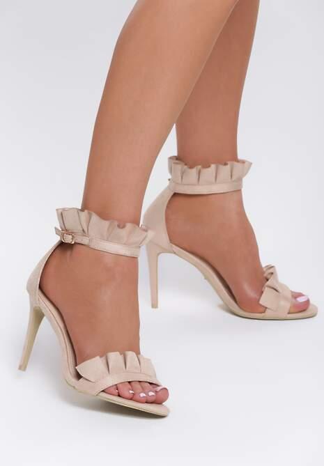 Beżowe Sandały Amazing