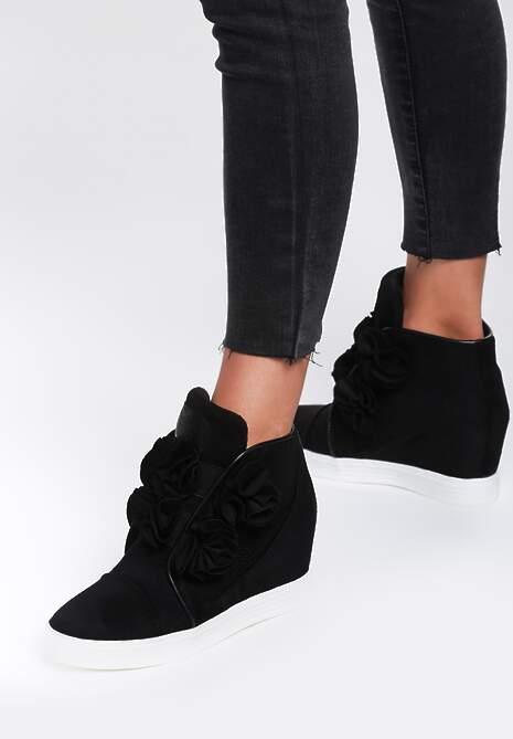 Czarne Sneakersy Doodad