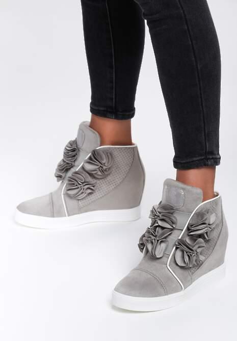 Szare Sneakersy Doodad