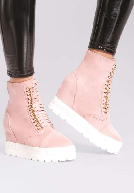 Różowe Sneakersy Snow White
