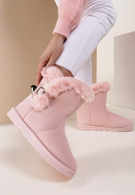 Różowe Śniegowce Nit-Pick