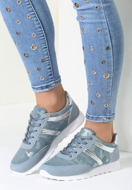Niebieskie Buty Sportowe Good Times