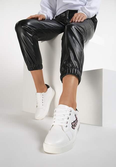 Biało-Różowe Buty Sportowe In Love