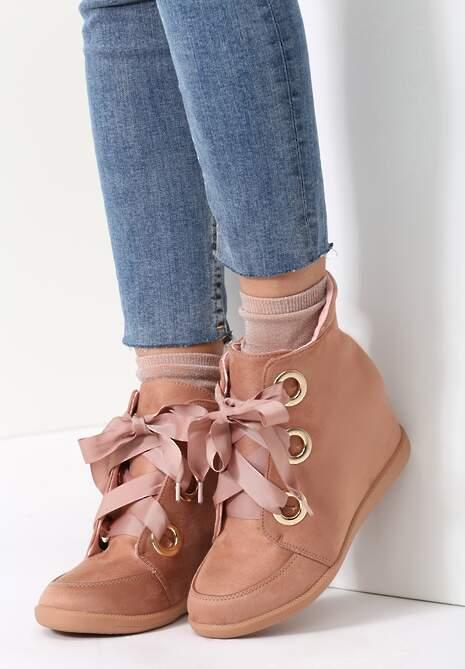 Różowe Sneakersy BFFs